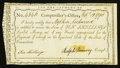 Colonial Notes:Connecticut, Connecticut Interest Certificate 10 Shillings February 12, 1790Anderson CT-51 Fine, CC.. ...