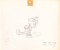 Animation Art:Production Drawing, Pinocchio Pinocchio Animation Drawing (Walt Disney,1940)....