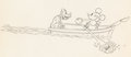 Animation Art:Production Drawing, Fishing Around Mickey Mouse and Pluto Animation Drawing (Walt Disney, 1931)....