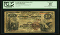 National Bank Notes:Pennsylvania, Philadelphia, PA - $10 1882 Brown Back Fr. 480 The Eighth NB Ch. #522. ...