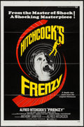 """Movie Posters:Hitchcock, Frenzy (Universal, 1972). One Sheet (27"""" X 41"""") and Photos (6) (8""""X 10""""). Hitchcock.. ... (Total: 7 Items)"""