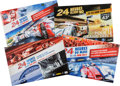 Automobilia, FOUR 2010'S LE MANS ORIGINAL EVENT ADVERTISING POSTERS. 2010-2013.All - 15-3/4 x 23-3/4 inches (40.0 x 60.3 cm). ... (Total: 4 Items)