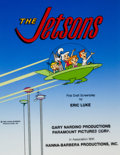 Animation Art:Production Drawing, The Jetsons First Draft Screenplay Cover IllustrationOriginal Art (Hanna-Barbera, 1985)....