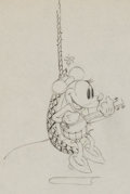 Animation Art:Production Drawing, Camping Out Minnie Mouse Production Drawing Animation Art(Walt Disney, 1933). ...
