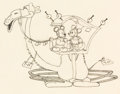 Animation Art:Production Drawing, Mickey in Arabia Mickey and Minnie Mouse Animation Drawing(Walt Disney, 1932)....