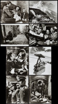 """Movie Posters:War, Where Eagles Dare (MGM, 1968). Presskit (9"""" X 11.5"""") & Photos(8) (8"""" X 10""""). War.. ... (Total: 9 Items)"""