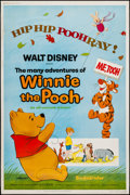 "Movie Posters:Animation, The Many Adventures of Winnie the Pooh (Buena Vista, R-1977). Poster (40"" X 60""). Animation.. ..."
