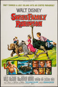 "Movie Posters:Adventure, Swiss Family Robinson (Buena Vista, R-1975). Poster (40"" X 60"").Adventure.. ..."