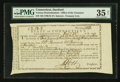 Colonial Notes:Connecticut, Connecticut Treasury February 22, 1791 Anderson CT-22 PMG ChoiceVery Fine 35 Net.. ...