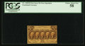 Fractional Currency:First Issue, Fr. 1282SP 25¢ First Issue Narrow Margin Face PCGS Choice About New 58.. ...