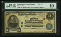 National Bank Notes:Pennsylvania, Huntingdon, PA - $5 1902 Date Back Fr. 590 The First NB Ch. # (E)31. ...