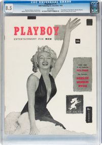 Playboy #1 Newsstand Edition (HMH Publishing, 1953) CGC VF+ 8.5 White pages