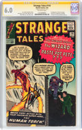 Silver Age (1956-1969):Superhero, Strange Tales #110 Signature Series (Marvel, 1963) CGC FN 6.0 Off-white pages....