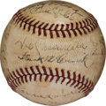Baseball Collectibles:Balls, 1938 Johnny Vander Meer Last Out Baseball from First of Two Consecutive No-Hitters....