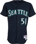 Baseball Collectibles:Uniforms, 2012 Ichiro Suzuki Game Worn Seattle Mariners Jersey. ...