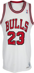 Basketball Collectibles:Uniforms, 1986-87 Michael Jordan Game Worn Chicago Bulls Jersey, MEARSA10....