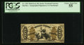 Fractional Currency:Third Issue, Fr. 1355 50¢ Third Issue Justice PCGS Choice About New 55.. ...