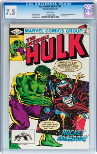 The Incredible Hulk #271 (Marvel, 1982) CGC VF- 7.5 White pages