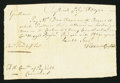 Colonial Notes:Connecticut, Connecticut Pay Table Office Unspecified Amount September 7, 1780Very Fine.. ...