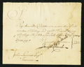 Colonial Notes:Connecticut, Connecticut Pay Table Office £703 19s 8d February 29, 1780 VeryFine.. ...