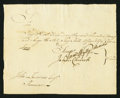 Colonial Notes:Connecticut, Connecticut Pay Table Office £1000 February 3, 1780 Very Fine.. ...