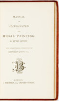 Books:Non-fiction, Edwin Jewitt. Manual of Illuminated and Missal Painting. London: J. Barnard, [n.d.]....