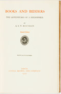 Books:Books about Books, A. S. W. Rosenbach. SIGNED/LIMITED. Books and Bidders: The Adventures of a Bibliophile. Boston: Little Brown and...