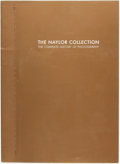 Books:Photography, Thurman F. Naylor. The Naylor Collection. The Complete History of Photography. 2005. A pictorial overview of items i...