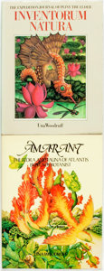 Books:Natural History Books & Prints, Una Woodruff. Amarant. The Flora and Fauna of Atlantis by a Lady Botanist. [and:] Inventorum Natura. The Expedit... (Total: 2 Items)