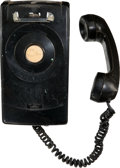 Baseball Collectibles:Others, 1960's-70's Yankee Stadium Dugout to Bullpen Telephone....