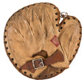 Baseball Collectibles:Others, 1910's Roger Bresnahan Game Used Catcher's Mitt....
