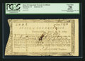 Colonial Notes:Connecticut, Connecticut Treasury Certificate £3 3s 6d June 1, 1782 AndersonCT-19 PCGS Apparent Very Fine 20.. ...