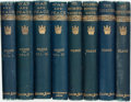 Books:Literature Pre-1900, [Leo Tolstoy]. Lyof N. Tolstoï. War and Peace, vols I - IV,[with:] The Cossacks, [and:] Childhood, Boyh... (Total: 8Items)