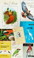 Books:Natural History Books & Prints, [Birds] Group of Eight Books about Birds. Various publishers and dates. Original bindings. Very good. . ... (Total: 8 Items)