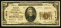 National Bank Notes:Maryland, Frostburg, MD - $20 1929 Ty. 2 Frostburg NB Ch. # 13979. ...