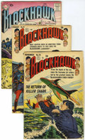 Silver Age (1956-1969):Adventure, Blackhawk Group (DC, 1953-66) Condition: Average GD+.... (Total: 8 Comic Books)