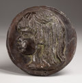 Sculpture, Coco. . After Pierre Auguste Renoir, French (1841-1919) . 1907. Bronze with dark brownish green patina. Incised with artist'...