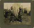 Photography:Official Photos, IMPRESSIVE PLATINUM PRINT OF WILD WEST SHOW INDIANS. Richlydetailed platinum image of two warriors from Buffalo Bill's Wild...(Total: 1 Item)