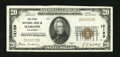 National Bank Notes:Oklahoma, Marlow, OK - $20 1929 Ty. 1 The First NB Ch. # 12129. ...