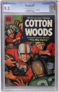 Silver Age (1956-1969):Adventure, Four Color #837 Cotton Woods (Dell, 1957) CGC NM- 9.2 Cream to off-white pages....