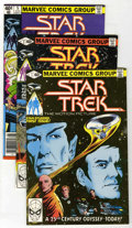 Modern Age (1980-Present):Science Fiction, Star Trek Group (Marvel, 1980-81) Condition: Average NM.... (Total:10 Comic Books)