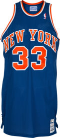 Basketball Collectibles:Uniforms, 1986-87 Patrick Ewing Game Worn New York Knicks Jersey, MEARS A8....