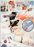 Original Comic Art:Panel Pages, Frank Bellamy TV Century 21 #147 Page 19 Thunderbirds Original Art (IPC, 1967)....