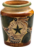 General Historic Events:Expos, Texas Centennial Ceramic Urn...