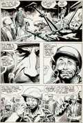 """Original Comic Art:Panel Pages, Joe Kubert Our Army At War #233 """"Head Count"""" Page 5 Sgt.Rock and Easy Co. Original Art (DC, 1971)...."""