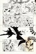 Original Comic Art:Panel Pages, Frank Miller and Klaus Janson Batman: The Dark KnightReturns #3 Page 37 Original Art (DC, 1986).... (Total: 2Items)