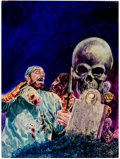 Original Comic Art:Covers, Gray Morrow For Monsters Only #10 Cover Vincent PricePainting Original Art (Major Publications, 1972)....