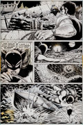 Original Comic Art:Panel Pages, Paty Greer and Bill Everett The Cat #3 Page 2 Original Art(Marvel, 1973). ...