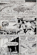 "Original Comic Art:Panel Pages, Bill Everett Sub-Mariner #53 ""... And the Rising Sun ShallFall!"" Page 6 Original Art (Marvel, 1972)...."