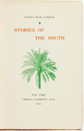 Books:Literature Pre-1900, Thomas Nelson Page, Harrison Robertson, Joel Chandler Harris andRebecca Harding Davis. Stories of the South. New Yo...